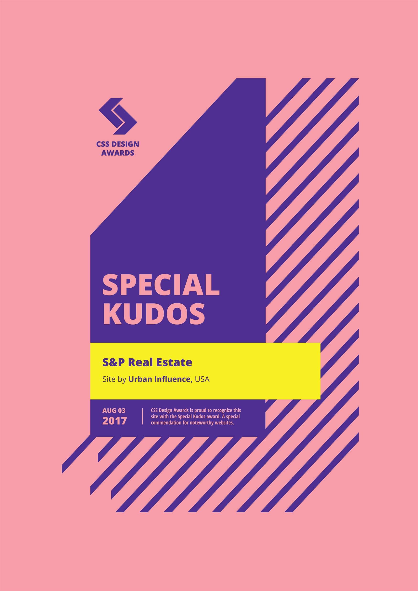 S&P Real Estate CSS Design Awards